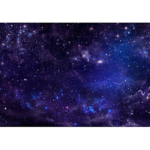 wall26 - Starry Night Sky Deep Outer Space - Removable Wall Mural | Self-Adhesive Large Wallpaper - 100x144 inches by wall26 (Image #1)