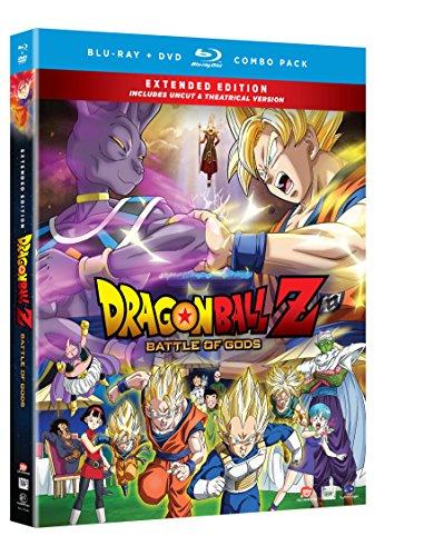 Dragon Ball Z: Battle of the Gods (Extended Edition) (Blu-ray/DVD Combo) (Best Dragon Z Ball Battles)