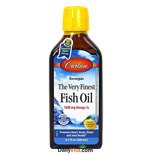 Carlson Finest Norwegian Liquid Omega 3s product image