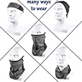 Ear Loops Neck Gaiter Ice Silk Face Cover Scarf