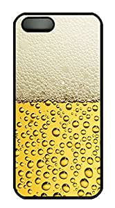 iPhone 5s Case, iPhone 5s Cases - Yellow water droplets Custom Design iPhone 5s Case Cover - Polycarbonate¨CBlack