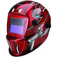 Auto Darkening Welding Helmet with Racing Stripe Design by Chicago Electric Welding