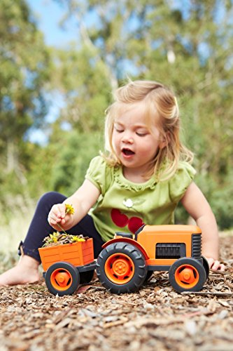 Green Toys Tractor Vehicle Toy