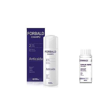 Pack tratamiento anticaída Forbald champú+cápsulas: Amazon ...