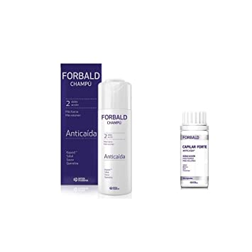 Amazon.com: Forbald Shampoo Hair Loss Pack 250ml + Forte 60 ...