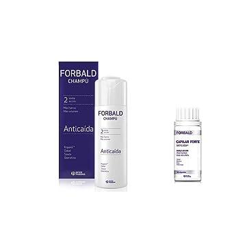 Amazon.com: Forbald Shampoo Hair Loss Pack 250ml + Forte 60 ...