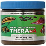 New Life Spectrum Thera-A Small Fish 0.5mm Sinking Salt/Freshwater Pet Food, 200gm