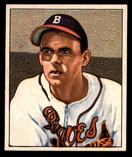 1950 Bowman #192 Bob Chipman Bos Braves MLB Baseball Card G Good