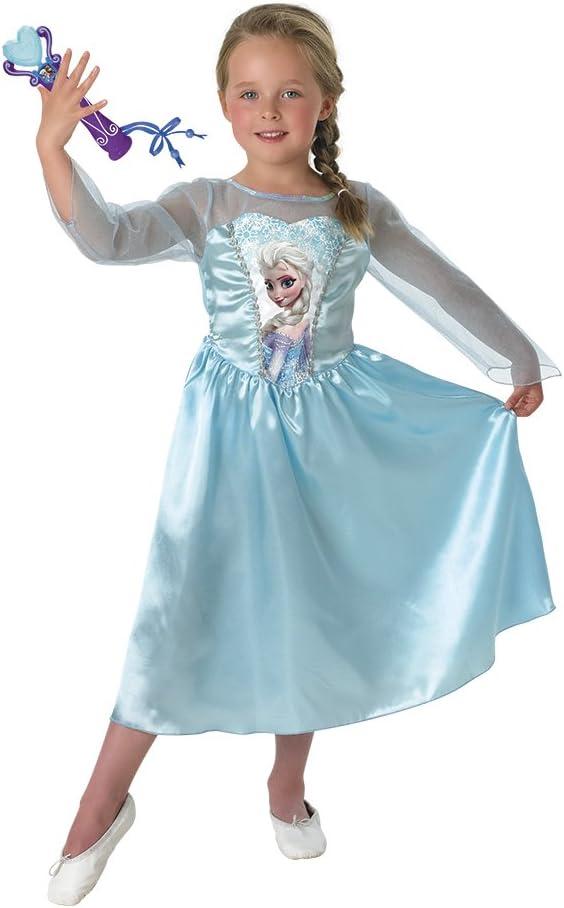 Frozen - Disfraz Elsa Classic, para niños, 5-6 años (Rubies 889542 ...