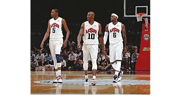 MLB Collectibles Basketball 2012 olympics usa dream team retain gold medal with victory LeBron James Kobe Bryant Photo Picture