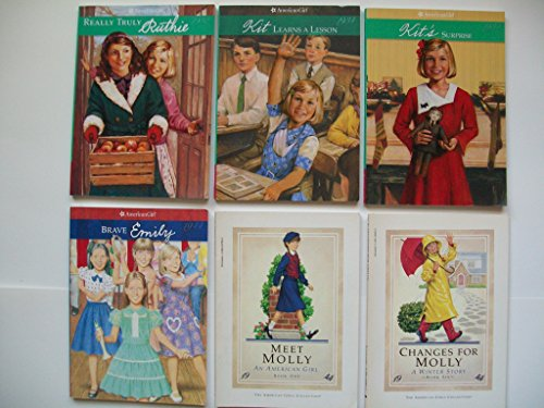 American Girl (6 Bks) Really Truly Ruthie; Kit's Surprise; Meet Molly; Brave Emily