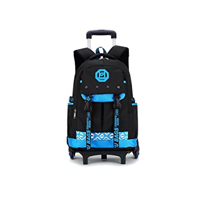 Amazon Com Yub Cool Children School Bag Backpack With Wheels Kids