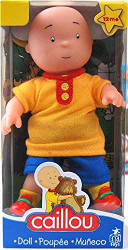 "Caillou 7"" Doll (Colors May Vary)"