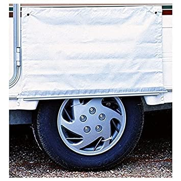First4Spares Caravan Awning Skirt Wheel Arch Draught Cover