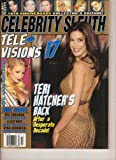 Celebrity Sleuth (18th Anniversary Collector s Edition!Television 17, Teri Hatcher, Eva Longoria, Kelly Ripa, Debra Messing, #44)