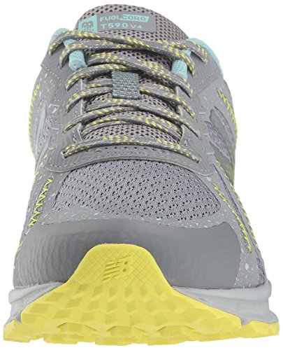 New Balance Women's 590v4 FuelCore Trail Running Shoe, Gunmetal, 5.5 D US by New Balance (Image #4)