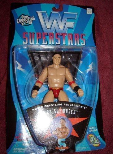 WWF Ken Shamrock Wrestling Figure by Jakks WWE WCW - Wwf Wwe Jakks Figure