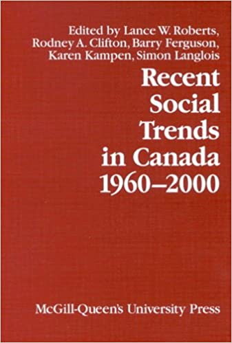 1960-2000 Recent Social Trends in Canada