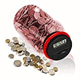 HeQiao Digital Coin Bank LCD Auto Counting Kids