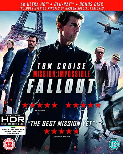 Mission: Impossible - Fallout [4K UHD + Blu-ray]