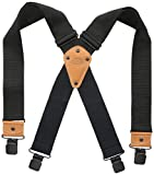 Dickies Men's Industrial Strength Suspenders,Black,One Size