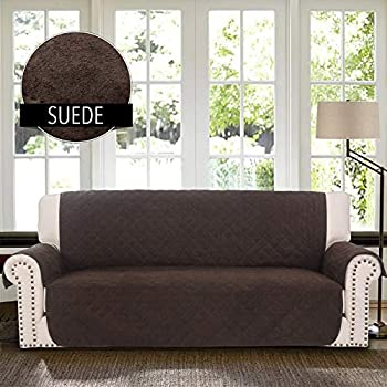 Amazon Com Rhf Faux Suede Sofa Cover Couch Covers For 3