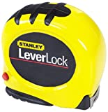 30 ft stanley tape measure - Stanley 30-830 30-Foot-by-1-Inch LeverLock Tape Rule