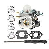 HIPA 753-06190 Carburetor + Carb Adjustment Tool for MTD Craftsman String Trimmer 316711023 316711390 316711020 316711021 316711022 316711370 316711470 316711471 316990100 316990110 Brushcutter