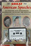 Great American Speeches, Scholastic, Inc. Staff, 0590898108