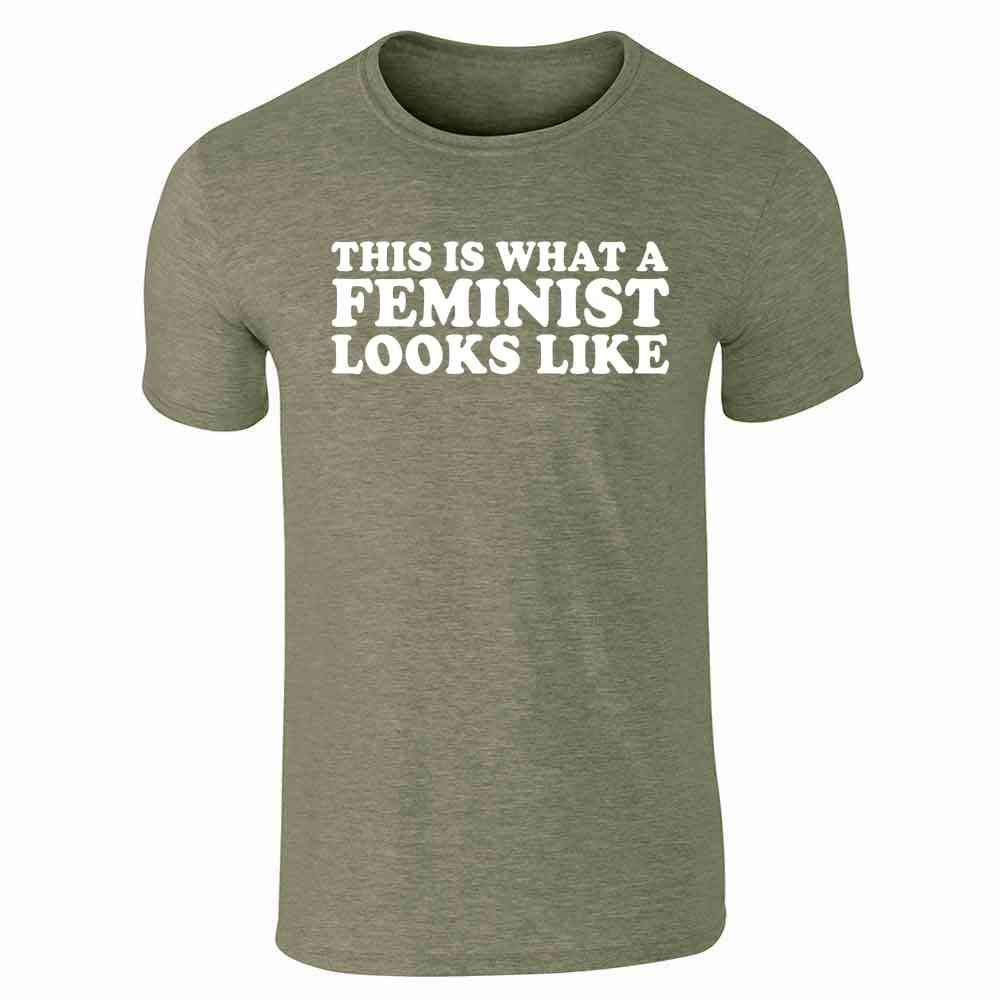 This Is What A Feminist Looks Like Political Short Sleeve T Shirt
