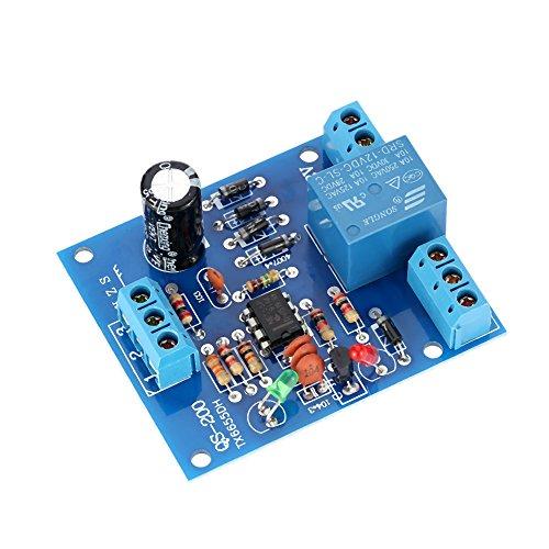Liquid Detection Sensor (9V-12V AC/DC Liquid Level Controller Water Level Detection Sensor Drainage Pump Water Control Module)