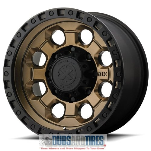American Racing ATX AX201 17×9 Black Bronze Wheel / Rim 5×5 with a -12mm Offset and a 78.30 Hub Bore. Partnumber AX20179050612N