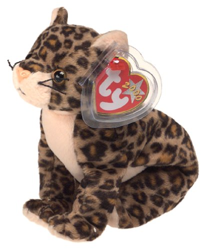 Amazon.com  TY Beanie Baby - SNEAKY the Leopard  Toys   Games f5247a8bb1f