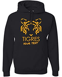 Tigres UANL Mexico Hooded Hoodie Hoody Sudadera with Free Custom Text(Optional)