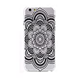Lookatool for iphone6 4.7Inch Henna Mandala Tribal Floral Dream Catcher Case Cover