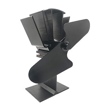 YKDY Liank SF-112 - Ventilador de Estufa para Estufas de Madera, Gas,