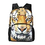 Cheap Koolertron Boys Girls 3D Animals Print Daypack Backpack School Bag Multicoloured For School Camping Travel Fits Textbooks,Smartphones,Music Players,iPad and Samsung Tablet (Tiger)