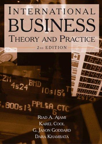 International Business by Riad A. Ajami, Karel Cool, G. Jason Goddard