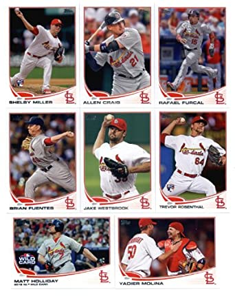 St Louis Cardinals 2017 Topps Factory Sealed Special Edition 17 Card Team Set with Aledmys Diaz and Yadier Molina Plus