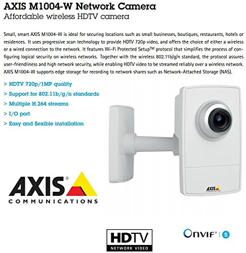 Axis M1004-W Network Camera - Color M100 - Axis Security Camera Mount Shopping Results
