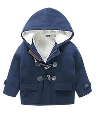 43bd583f5d4a2 (ラボーグ) La vogue アウター ベビー服 綿服 キッズ ダッフルコート 子どもジャケット 長袖 女の子