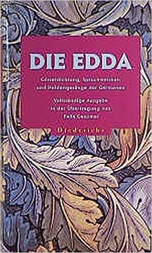 Felix Genzmer - Die Edda