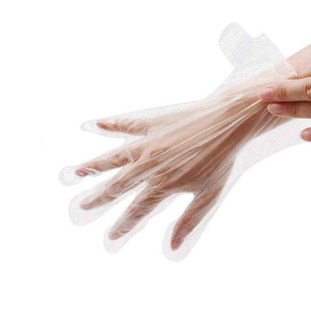 Damsale 200 pcs Paraffin Wax Liners for Hand, Larger and Thicker Disposable Plastic Hand Bags, Therabath Glove Mitt Liner Covers for Wax Therapy Treatment Wax Messes, Great for Paraffin Wax Machine : Beauty