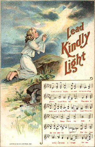 Lead Kindly Light Songs & Lyrics Original Vintage - Lyrics Song Light