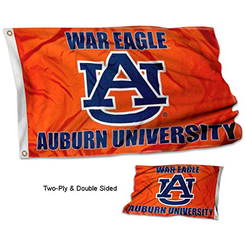 - College Flags and Banners Co. Auburn Tigers War Eagle Double Sided Flag