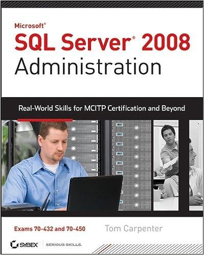 Beginning Microsoft Sql Server 2008 Administration Ebook