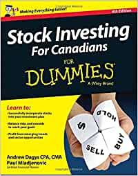 Image result for stock investing for canadian dummies
