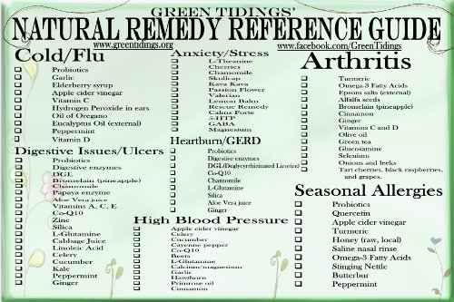 Natural Remedy Reference Guide I (Magnet)