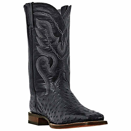Dan Post Men's Chandler Western Boot,Black,10.5 D US (Dan Post Ostrich Boots)