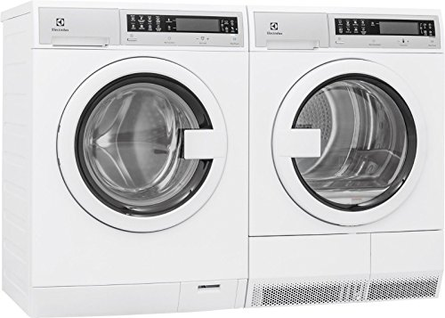 Electrolux EIFLS20QSW Fa Load Washer & EIED200QSW Electric Dryer Set (Side by Side Installation)